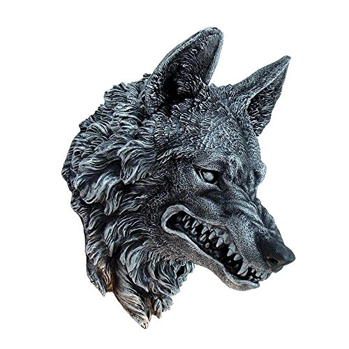 Nemesis Now Wolfs Wandbüste Dekoration Wildlife Wall Plaque Dekofigur (Büste Wolf)