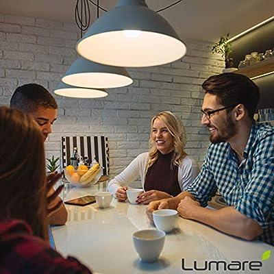 Lumare LED Spot GU10 5W | Ersetzt 50W Lampe | 520 Lumen 2700 Kelvin | Energiesparlampe Ersatzlampe | warmweiss 5er Set von abalando GmbH