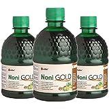 Unifibe™ Noni Gold Juice - 400 ml (with Garcinia, Aloe Vera, Amla, Ashwagandha & Grape Seed Extract) (Pack of 3)