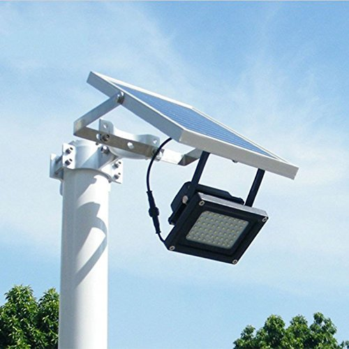 Solar Flutlicht; 54 Outdoor Sicherheit Licht, Solar LED Flood Landschaft Lampe für Rasen, Garten, Road, Hotel, Pool Teich, etc.. (Outdoor-sicherheits-licht Licht)