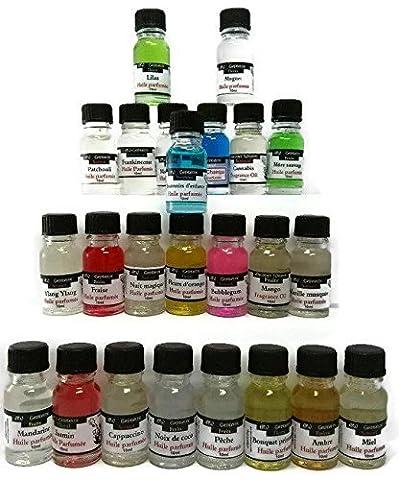 Huiles Parfumées Assortis Pour Bruleurs 24X10 ml