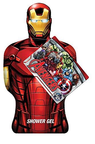 Avengers - Marvel Iron Man Shower Gel, 1er Pack (1 x 385 ml)
