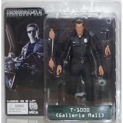 NECA Terminator 2 Cult Classics Action Figure Series 3 T-1000 (Galleria Mall)
