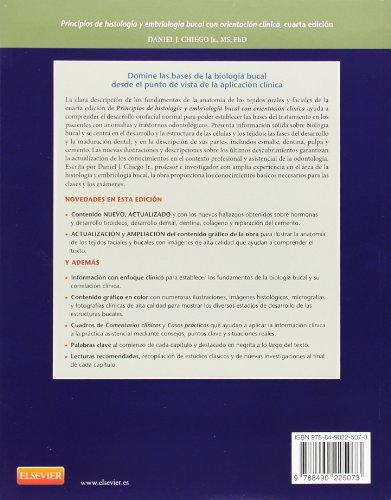Principios De Histología Y Embriología Bucal - 4ª Edición