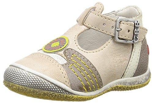 GBB Mario, Chaussures Bébé marche bébé garçon Beige (13 Vte Beige/Gris Dpf/Milk)