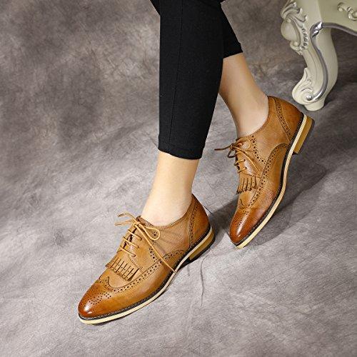 Mona Flying Chaussures à Lacets Femme Marron
