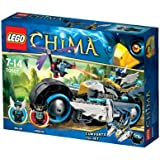LEGO Legends of Chima - Playthèmes - 70007 - Jeu de Construction - Le Roadster d'eglor