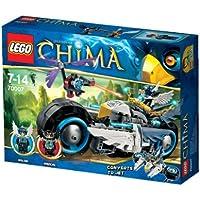 LEGO Legends of Chima - Playthèmes - 70007 - Jeu de Construction - Le Roadster d'eglor