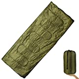 SHOPEE PLAIN ALL SEASONS Good Quality Waterproof Adult Sleeping Bag for Camping, Hiking and Adventure Trips - Size: Adult (220 x 70 Cm)