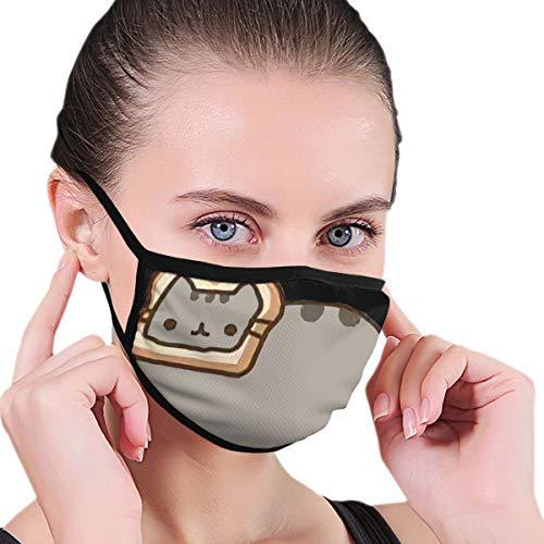 Unisex Anti-Staub Mundmaske Sind Sie die ultimative Wiederverwendbare Pusheen Fan Gesichtsmaske für Kinder Teenager Männer Frauen