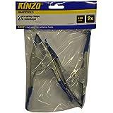 Kinzo 71863 Pince à ressort 150 mm 2 pièces