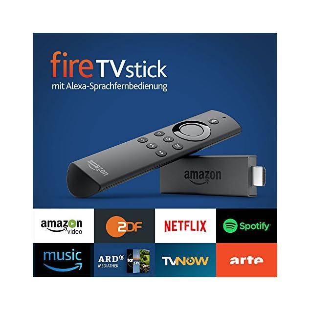 Fire TV Stick mit Alexa-Sprachfernbedienung, Zertifiziert und generalüberholt (Vorgängermodell - 2. Generation)