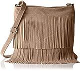 Bags4Less Damen Tipsi Umhängetasche, Braun (Taupe), 10x30x30 cm