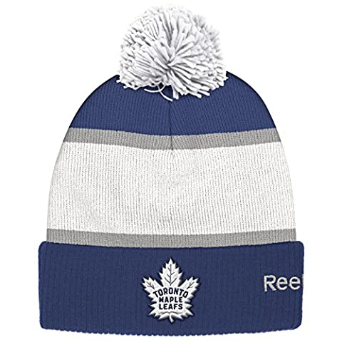 Toronto Maple Leafs Centennial Classic Cuffed Pom Knit Hat - Size One-Size