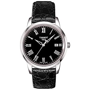 Tissot Men Analogue Watch with Black Dial Analogue