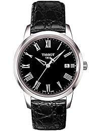 amazon co uk tissot watches tissot men analogue watch black dial analogue