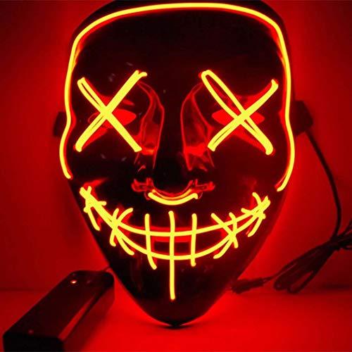 Halloween Beängstigend LED-Maske Kostüm Für ()