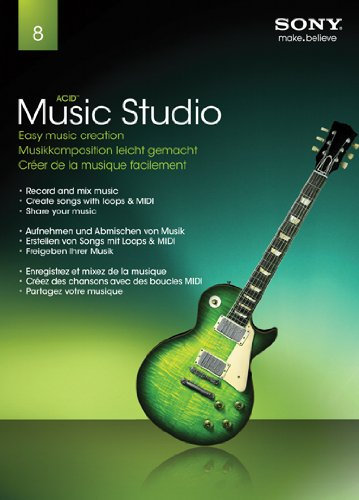 Sony Music Studio 8 2011 Release (Software Komponieren Musik)