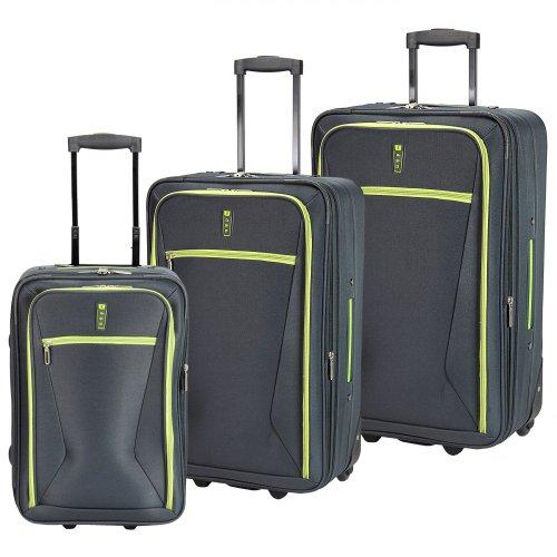 d & n Travel Line 9300 2-Rollen Trolley Set 3tlg