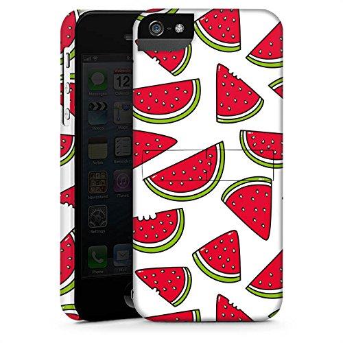 Apple iPhone 4 Housse Étui Silicone Coque Protection Melon Été Nourriture CasStandup blanc
