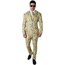 Rubie 's–Disfraz de oficial MINION traje de icono Crazy–Hombres De tamaño estándar