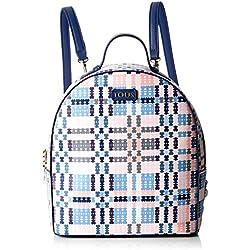 Tous 995800183, Bolso mochila para Mujer, (Azul), 21x25x9 cm (W x H x L)