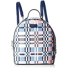 740cd3087 Tous 995800183, Bolso mochila para Mujer, (Azul), 21x25x9 cm (W