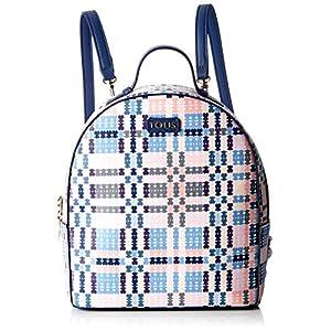 Tous 995800183, Bolso mochila para Mujer, Azul (Azul), 21x25x9 cm (W x H x L)