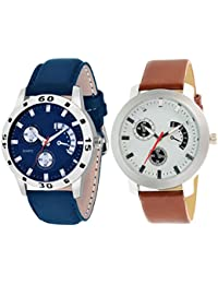 On Time Octus Combo Of 2 Analog Watch For Boys And Mens- OT-205-213