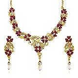 Atasi International Pink Necklace Set