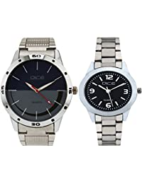 Dice Stylish Couple Watches Combo of 2 Watches for Couple-03