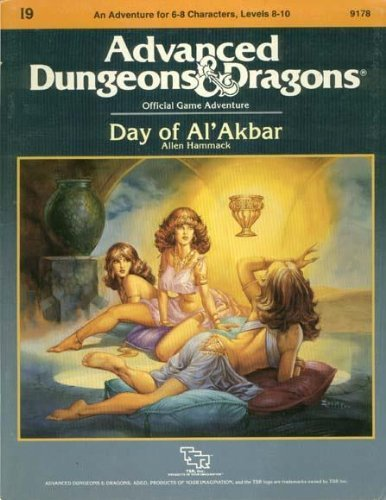 Day of Al'Akbar (Advanced Dungeons and Dragons Module I9) by Allen Hammack (1986-09-02) par Allen Hammack
