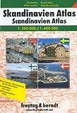 Freytag Berndt Atlanten, Skandinavien-Atlas