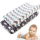 FANZHOU Weiches Wickelkissen für Babygeschenke für Mädchen und Jungen mit maschinenwaschbarem Bezug