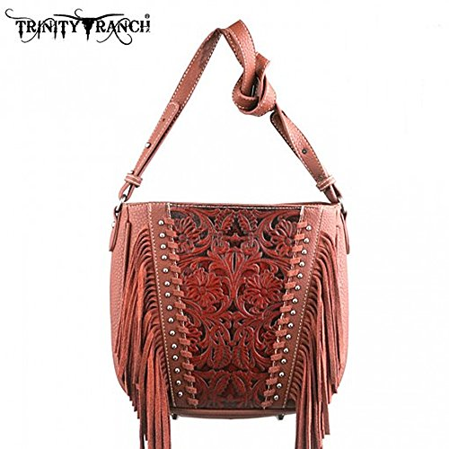 hand-shoulder-bag-fringe-shoulder-bag-western-trinity-ranch-nieten-in-3-colours-brown-size