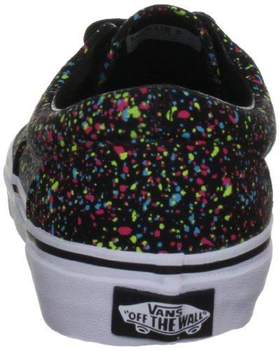 Vans Era, Unisex - Erwachsene Sportschuhe - Skateboarding Schwarz (Overspray/Black)