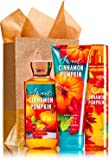 Bath & Body Works SWEET CINNAMON PUMPKIN Fragrance Favorites Gift Kit ~ Shower Gel ~ Fragrance Mist & Body Cream