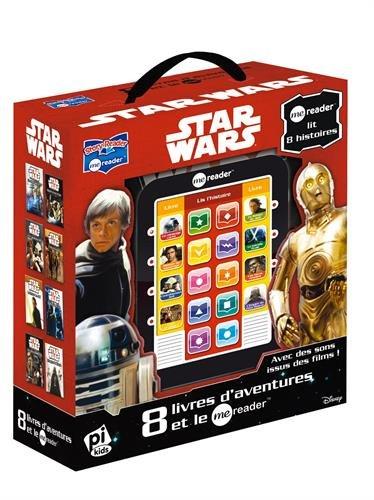 Coffret Star Wars : 8 livres d'aventures et le Me Reader : Un message caché ; Mission de sauvetage ; L'Entraînement Jedi ; C'est un piège ! ; Le ... ; Les Héros Rebelles ; L'Empire Maléfique