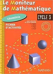Moniteur de mathématiques, photofiches géométrie