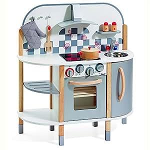 howa - Cuisine en bois avec 5 accessoires 4818