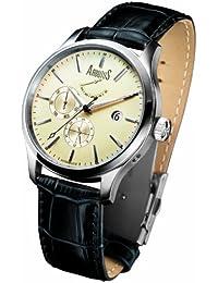2a2650477a Arbutus New York - AR303IB - Montre Homme - Automatique - Analogique -  Bracelet cuir noir
