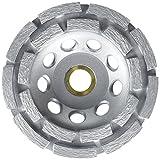 lackmond sppgc4.5d SPP Serie cups-4–1/5,1cm Wet/Dry Beton Stein Beschichtung Werkzeug zum Entfernen mit zweireihig Konfiguration und 7/20,3cm-5/20,3cm Arbor