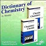 Dictionary of Chemistry Englisch - Deutsch / Deutsch - Englisch. CD- ROM