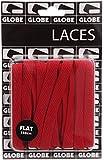 Globe Red 150 CM Flat Laces