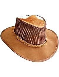 f50555d10a4c0 Cañonero Africano Buffalo Sombrero de piel con FLY Banda · EUR 69
