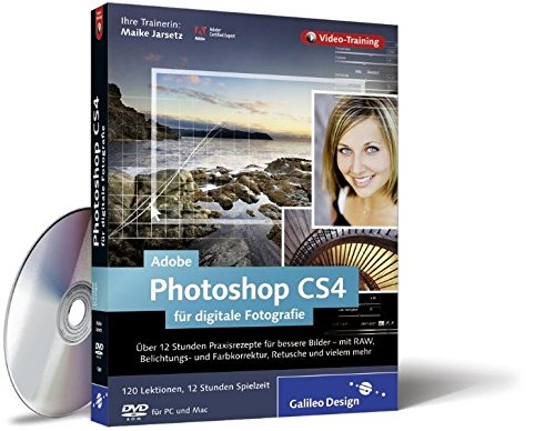 Adobe Photoshop CS4 für digitale Fotografie. Das Video-Training auf DVD
