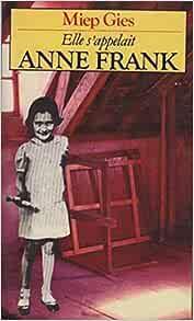 Couverture de Elle s'appelait anne frank (ppo 2839)
