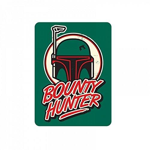 Star Wars - Metall Magnet - Boba Fett - Bounty Hunter - 9 x 6,7 cm (Wars Der Hunter Bounty)