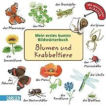 Mein erstes buntes Bildwörterbuch: Blumen und Krabbeltiere