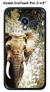"""Coque Elephant Spirit pour Alcatel OneTouch PIXI 3 - 4.5"""""""